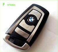 BMW F Schlüssel 4-Tasten Smartkey Gehäuse F10 F11 F20 F30 F31 F80 E84 F25 F85 4T