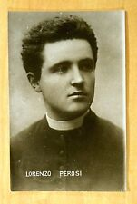 Photo Postcard Lorenzo Perosi Italian Composer Sacred Music Giovane Scuola c1905