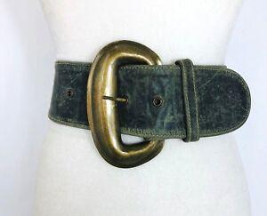 78cm*7.5cm Women Vintage Elastic Waist Belt Waistband Square Buckle Corset Belt