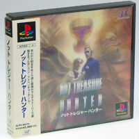 NOT TREASURE HUNTER PS1 Sony Japan Import PlayStation PSX NTSC-J w/ SPINE Card!