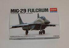 Academy Hobby Model Kits Mig-29 Fulcrum 1/144 Scale NIOB R9092