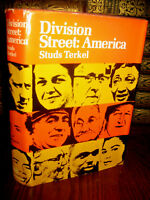 Division Street Studs Terkel SIGNED 1st Edition Journalism First Print Classic