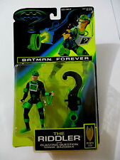BATMAN FOREVER The Riddler with Blasting Question Mark Bazooka Kenner 1995 MOC