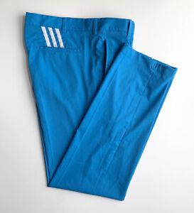 Makellose Golfhose von adidas, 36x34, cyan, stretchig, nagelneu