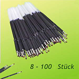 BLAU | SCHWARZ Kugelschreiberminen 8 - 100 Stück Kulimine Ersatzmine Kuliminen