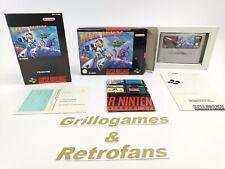 """Super Nintendo Spiel """" Mega Man X """" Snes   Ovp   Pal   CIB"""