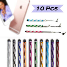 10x Touch Screen Stylus Pen Anti Dust Plug for iPad iPhone Samsung Kindle Tablet