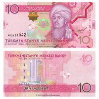 Turkmenistan 10 Manat 2012 P-30 Banknotes UNC