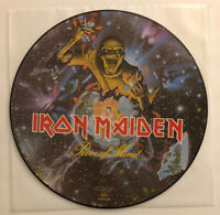 Iron Maiden - Piece Of Mind - 1983 US Picture Disc (NM) Ultrasonic Cleaned