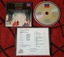 ALBERT WOLFF ** Manon: Jules Massenet ** Germany CD JACQUELINE CAUCHARD