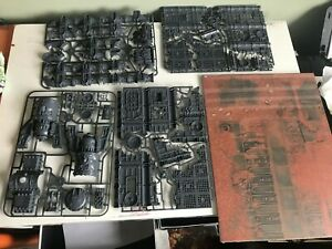 Warhammer 40k 9th Command Edition Terrain scenery. (game board + 4 Frames) New