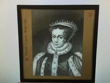 Portrait of Queen Mary Glass Magic Lantern Slide Royalty Royal Family
