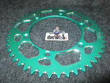 Kawasaki KX/KXF 125,250,450,500 1989-2015 Green alloy rear sprocket 48t 460-48
