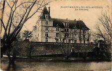CPA   Saint-Marcel-de-Bel-Accueil - Le Cháteau     (434488)