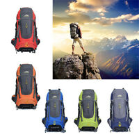 70L Outdoor Sports Hiking Bag Camping Travel Waterproof Mountaineering Backpack