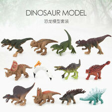 2Pcs Dinosaur Toy Set Plastic Play Toys Dinosaur Model Action and Figures