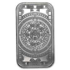 USA Azteken Aztec Calendar Aztekischer Kalender 1 oz 999 Silberbarren Silber