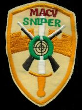 US Army MACV Sniper Vietnam Patch HM