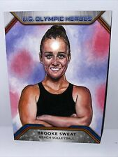 2020 Topps Olympic Heroes #BS Brooke Sweat - Beach Volleyball USA