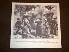 Enego - Vicenza e Catania nel 1882 Carabiniere Gonano Fincato e Pilotti Mertoli