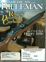 American Rifleman Magazine October 2000 Ruger's Deerfield Carbine, .454 Casull