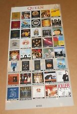 Queen + Paul Rodgers Return of the Champions Poster 2-Sided Flats Promo 12x24