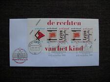 FDC Kinderpostzegelaktie Amsterdam 1989 A
