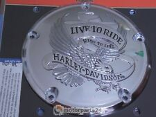 Harley Davidson Live To Ride Derby Cover Kupplungsdeckel Twin Cam 25372-02A