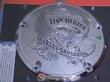 Harley Davidson Live To Ride Derby Cover Kupplungsdeckel Twin Cam 25372-02A