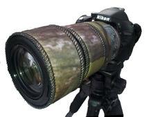 Nikon 55-300mm f/4.5-5.6g ED VR Neoprene Lente Protezione Mimetico Woodland/Nero