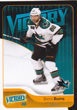 11-12 UD Victory Brent Burns BLACK Sharks 2011 Upper Deck