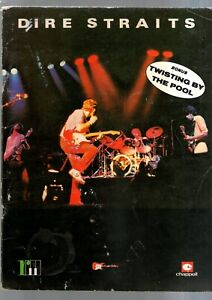 DIRE STRAITS SONGBOOK 1982 18 top songs words & music for guitar
