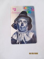 Wizard of Oz Scarecrow Collector Phone Card 1st Edition 3/94