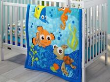 Crib Bedding Set 3Pc Finding Nemo Nursery Infant Baby Girl Bedroom Comforter Set