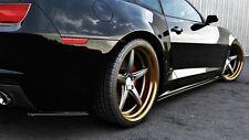 Seitenschweller ansätze carbon Chevrolet Camaro V SS Skirts Leisten Schweller