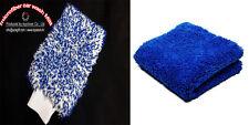 1 X microfiber Car wash Mitt + 1 X microfibger Buffing Towel From Korea, azagift