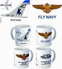 "VA-37 ""Bulls"" A-7 Corsair II mug"