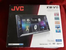 """JVC KW-V11 Double DIN DVD Car Stereo w/ 6.2"""" Touchscreen Display"""