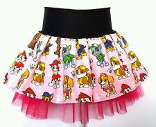 Paw Patrol Pink costume tutu party skirt. Skye Marshall Zuma Age 1 2 3 4 5 6