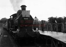 PHOTO  GWR 9000 ON 14TH JUNE-1953