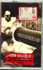 """VAN HALEN """" 3 """" MUSICASSETTA SIGILLATA  (MC -K7)"""