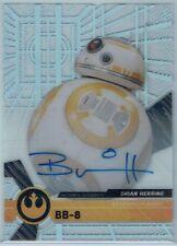 2017 Star Wars High Tek Autographs #Nno Brian Herring As Bb-8