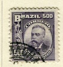 BRAZIL; 1906 early Portraits issue fine used 500r. value