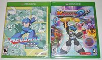 Xbox One Video Game Lot - Megaman Legacy Collection (New) Mighty No. 9 (New)