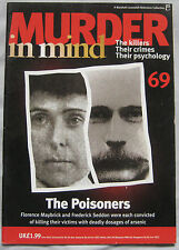 Murder in Mind Issue 69 -  The Poisoners Florence Maybrick and Frederick Seddon