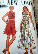 LOVELY VTG WRAP BLOUSE & SKIRT NEW LOOK Sewing Pattern 6-16