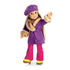 American Girl JULIE's WINTER COAT & HAT New In Box Retired