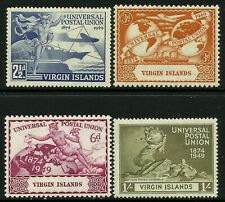 Zanzibar 1949 UPU set Mint Lightly Hinged Fresh Gum