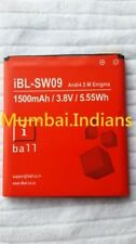 REPLACEMENT iBL-SW09 BATTERY For iBall Andi 4.5 M Enigma Mobile With 1500mAh