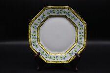 "Raynaud Ceralene MORNING GLORY (Ring) Octagonal 8.5"" Luncheon Plate"